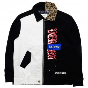 Lifted Anchors Men Skinner Shop Jacket (black)