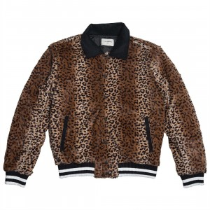 Lifted Anchors Men Luciana Jacket (brown / cheetah)