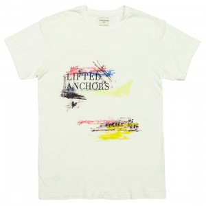 Lifted Anchors Men Scratch Tee (white)