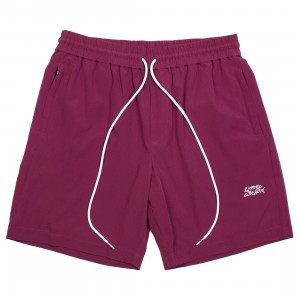Lifted Anchors Men Server Shorts (red / burgundy)