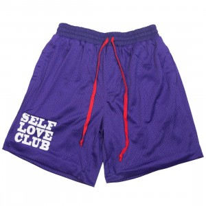 Lifted Anchors Men SLC Basketball Shorts (purple)
