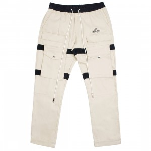 Lifted Anchors Men Turner Velcro Cargo Pants (khaki)