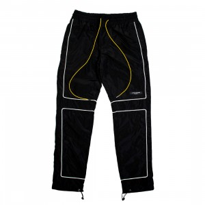 Lifted Anchors Men Vector Windbreaker Pants (black)