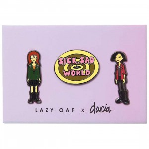 Lazy Oaf x Daria Pin Badge Pack (multi)