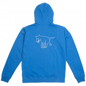 Lazy Oaf Men Dog Dirt Hoody (blue)