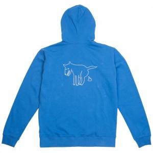 Lazy Oaf Men Dog Dirt Hoody (blue)