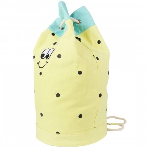 Lazy Oaf Pineapple Duffle Bag (yellow)