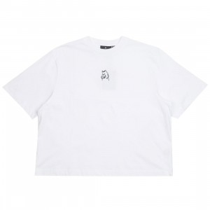 Lazy Oaf Women I Prefer Dogs Tee (white)