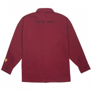 Lazy Oaf x Daria Women Chore Jacket (burgundy)