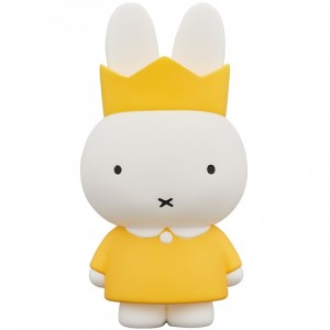 PREORDER - Medicom UDF Dick Bruna Series 4 Crown Miffy Figure (yellow)