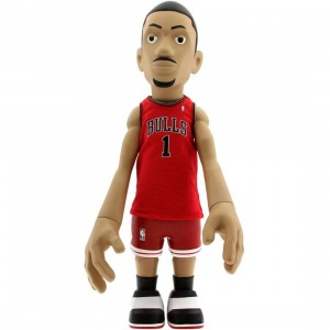 MINDstyle x NBA Derrick Rose 18 Inch Figurine - Away Jersey (red) - PYS.com Exclusive