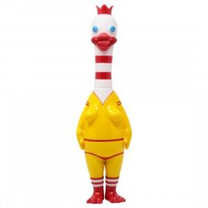 Popaganda x Ron English 12 Inch Allie Quack Figure (yellow)