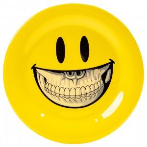 Popaganda x Ron English 27cm Plastic Plate (yellow)