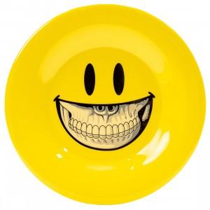 Popaganda x Ron English 20cm Plastic Plate (yellow)