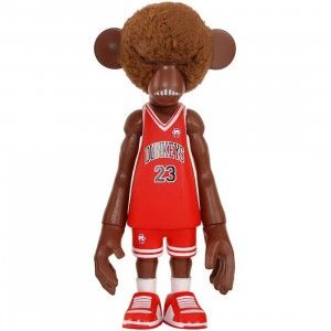 MINDstyle x CoolRain Dunkey #23 Pithecuse Collectible Figure (brown / red)