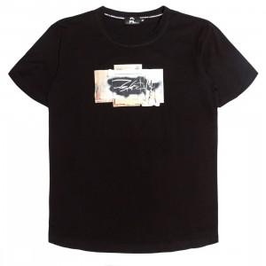 Futura Laboratories Men Stencil Short Sleeve Tee (black)