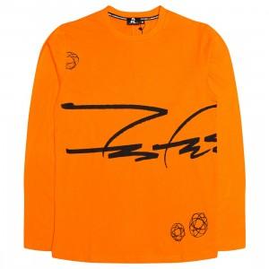 Futura Laboratories Men Siganture Long Sleeve Tee (orange)