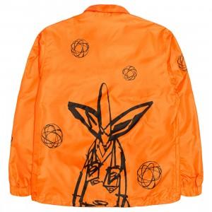 Futura Laboratories Men Coaches Jacket (orange)