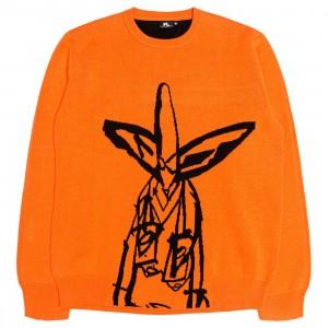 Futura Laboratories Men Pointman Knit Sweater (orange)
