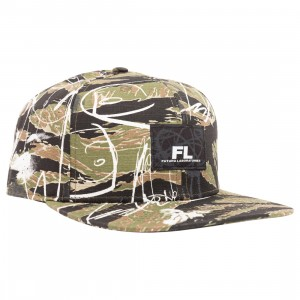 Futura Laboratories Snapback Cap (camo)