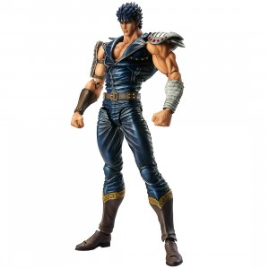 PREORDER - Medicos Super Action Statue Fist of the North Star Kenshiro Chozokado Figure (navy)