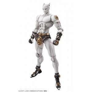 PREORDER - Medicos Super Action Statue JoJo's Bizarre Adventure Part 4 Diamond Is Unbreakable Killer Queen Chozokado Figure (white)