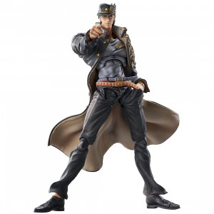PREORDER - Medicos Super Action Statue JoJo's Bizarre Adventure Part 3 Stardust Crusaders Jotaro Kujo Ver. 1.5 Chozokado Figure Re-Run (gray)