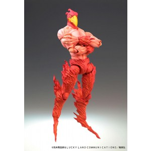 PREORDER - Medicos Super Action Statue JoJo's Bizarre Adventure Part 3 Stardust Crusaders Magician's Red Chozokado Figure Re-Run (red)
