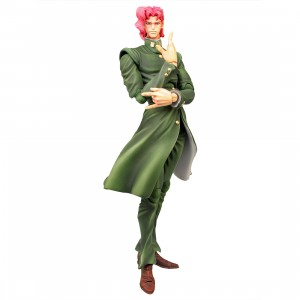 Medicos Super Action Statue JoJo's Bizarre Adventure Part 3 Stardust Crusaders Noriaki Kakyoin Chozokado Figure (green)