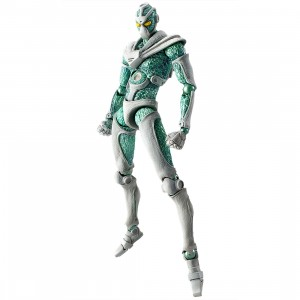 Medicos Super Action Statue JoJo's Bizarre Adventure Part 3 Stardust Crusaders Hierophant Green Chozokado Figure (green)