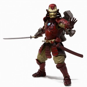 Bandai Meisho Manga Realization Marvel Comics Samurai Iron Man Mark 3 Figure (red)