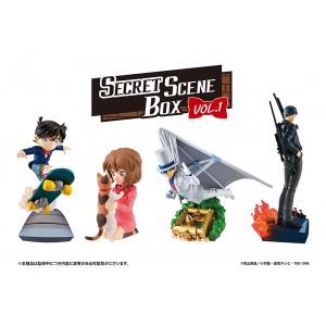 PREORDER - MegaHouse Petitrama Series Case Closed Secret Scene Box Vol. 1 Set of 4 Figures (multi)
