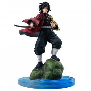 PREORDER - MegaHouse Demon Slayer Kimetsu no Yaiba G.E.M. Series Giyu Tomioka Figure (black)