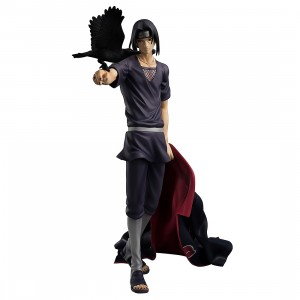 PREORDER - MegaHouse Naruto Shippuden G.E.M. Series Itachi Uchiha Figure Re-Run (gray)