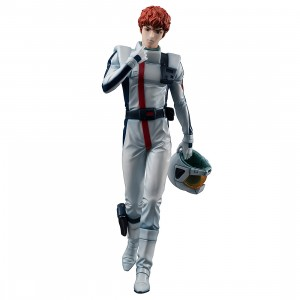 PREORDER - MegaHouse Gundam Guys Generation Mobile Suit Gundam Char's Counterattack Amuro Ray Figure (white)