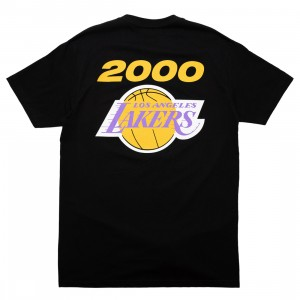 Mitchell And Ness Men NBA Los Angeles Lakers Finals 2000 Tee (black)