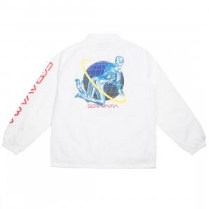 Medicom x SYNC x Hajime Sorayama Men Sexy Robot 01 Coach Jacket (white)
