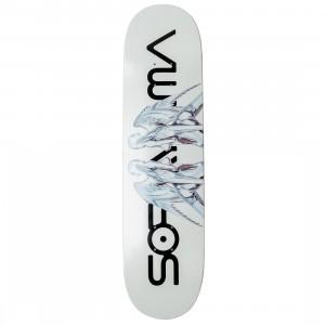 Medicom x SYNC x Hajime Sorayama Men Sexy Robot 01 Skateboard Deck (white)