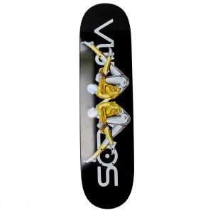 Medicom x SYNC x Hajime Sorayama Men Sexy Robot 02 Skateboard Deck (black)