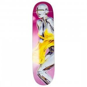 Medicom x SYNC x Hajime Sorayama Men Sexy Robot 03 Skateboard Deck (tan)