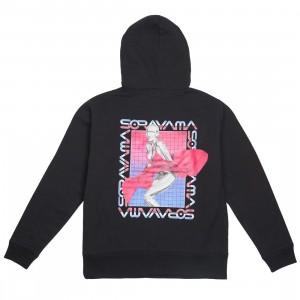 Medicom x SYNC x Hajime Sorayama Men Sexy Robot 03 Pullover Hoodie (black)