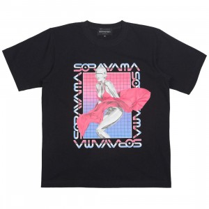 Medicom x SYNC x Hajime Sorayama Men Sexy Robot 03 Tee (black)