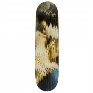 Medicom x SYNC Kosuke Kawamura Family Portrait Skateboard Deck (beige / multi)