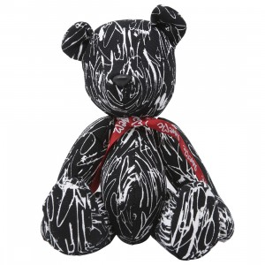 Medicom x SYNC x Curtis Kulig All Over Teddy Bear (black)