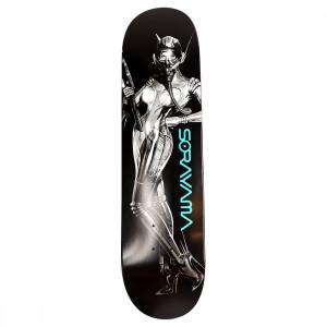 Medicom x SYNC x Hajime Sorayama Men Command Skateboard Deck (black)
