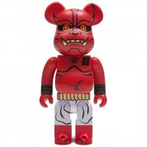 Medicom Akaoni Shinobu 400% Bearbrick Figure (red)