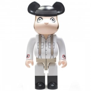 Medicom A Clockwork Orange Alex DeLarge 1000% Bearbrick Figure (white)