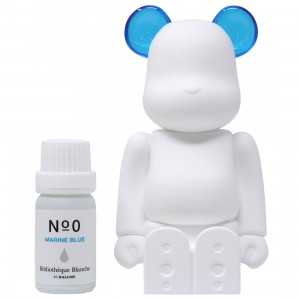 Medicom Aroma Ornament #00 Color Blue Bearbrick Figure (blue)