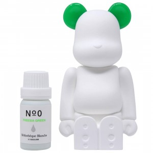 Medicom Aroma Ornament #00 Color Green Bearbrick Figure (green)