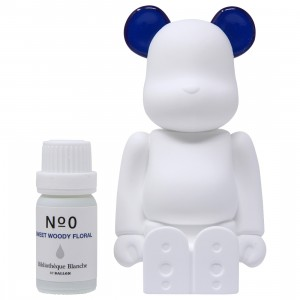 Medicom Aroma Ornament #00 Color Navy Bearbrick Figure (navy)